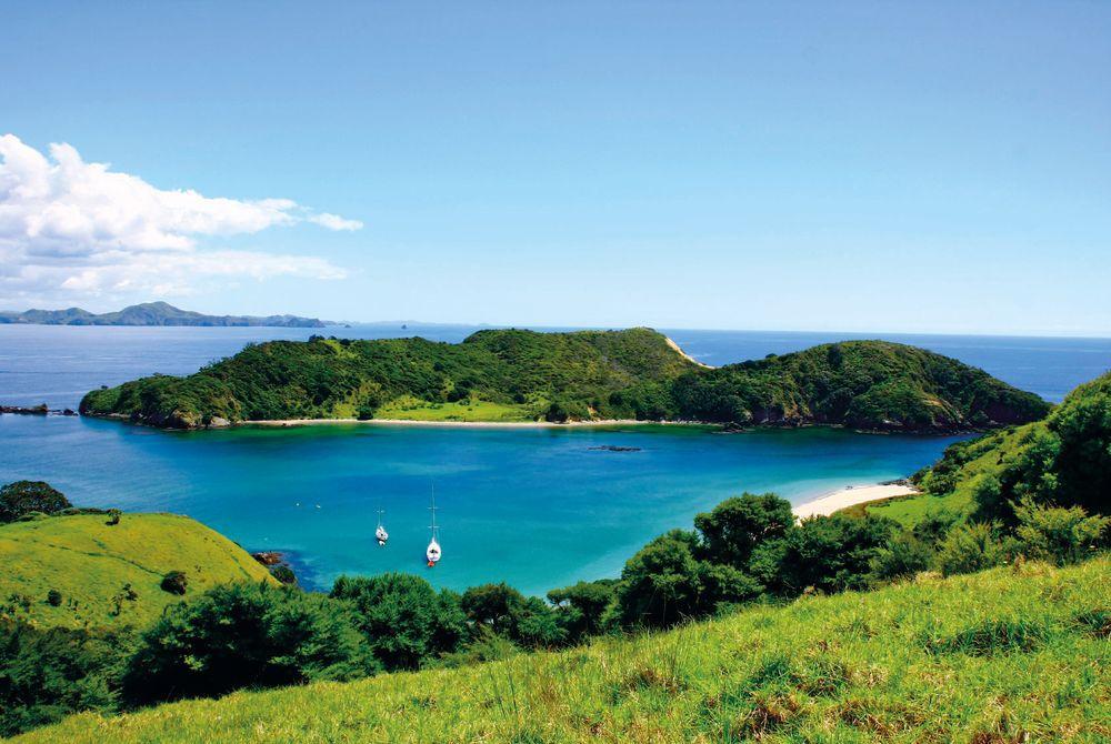 Bay of Islands, New Zealand  № 624937  скачать