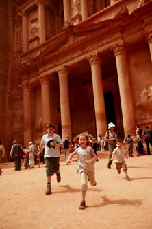 The Lost City of Petra - Family Holiday