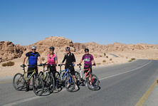 Petra & Wadi Rum by Bike