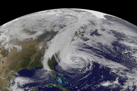 US east coast storm travel disruption