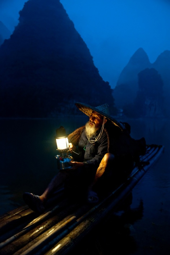 The boatman, China; winner Wexas Travel photography competition 2013