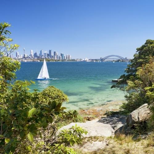 Sydney harbour national landscape tailor made travel article for Landscaping sydney