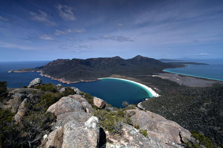 Wineglass Bay Tasmania Austr
