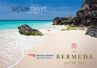 Wexas Travel brochure for Bahamas