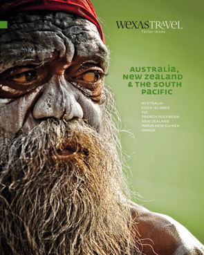 WEXAS Travel brochure for Australasia and Pacific