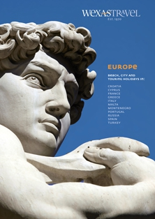 Wexas Travel brochure for Europe
