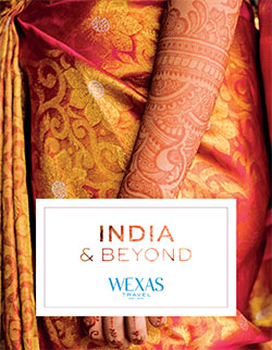 Wexas Travel brochure for India
