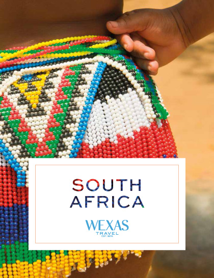 Wexas Travel brochure for South Africa