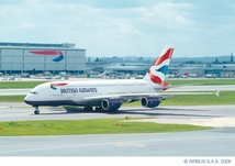Red Carpet Route for BA A380