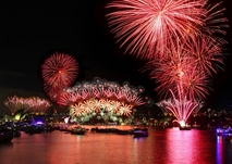 'Fireworks' from smart phones for Sydney