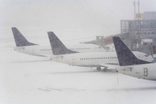 Snow warning for European airports