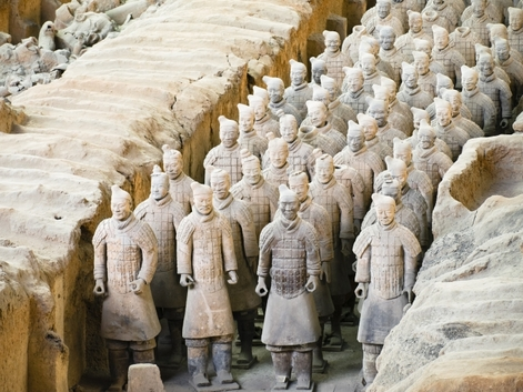 Terracotta warriors discovered