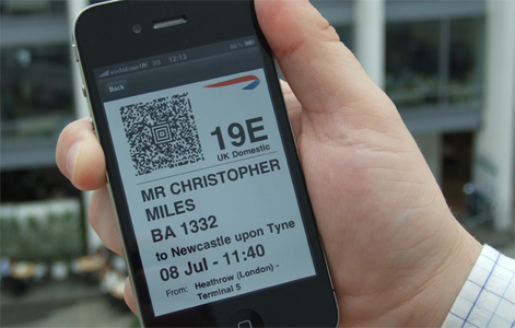 BA Launches Mobile Phone Check-in