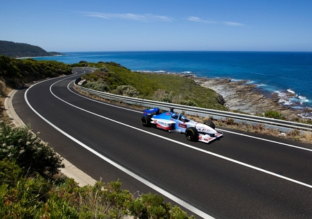 Grand Prix takes on Australia's Great Ocean Road