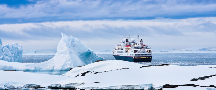 Adventure cruises in Antarctica