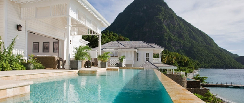 Sugar Beach, St Lucia, Caribean
