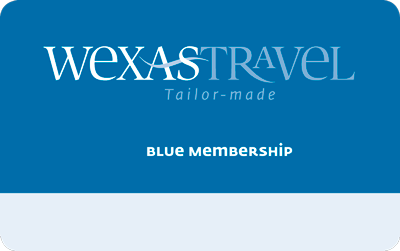 Blue Membership card