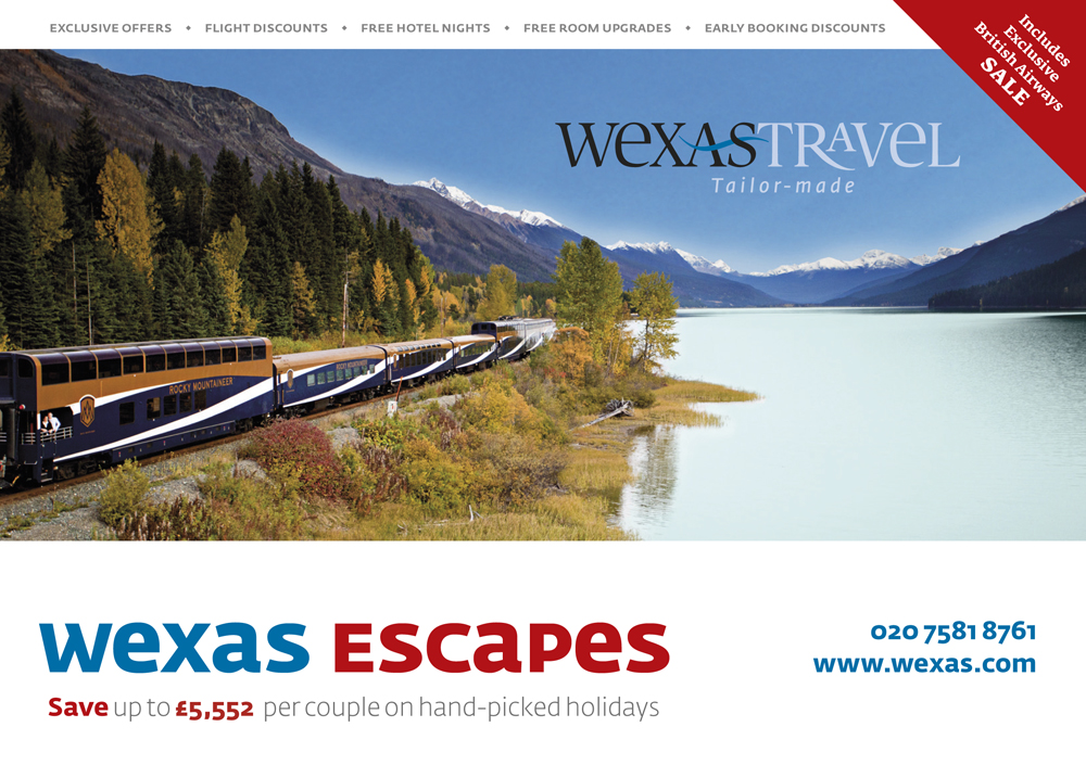 WEXAS Escapes April 2013