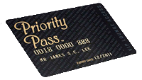 Prority Pass card
