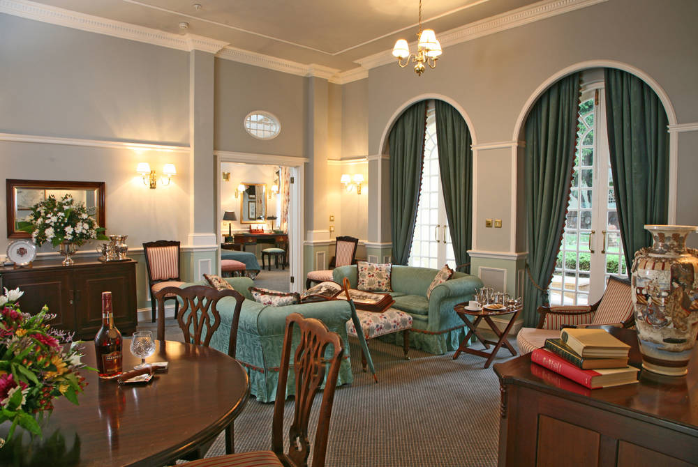 Royal Suite Lounge, Victoria Falls Hotel