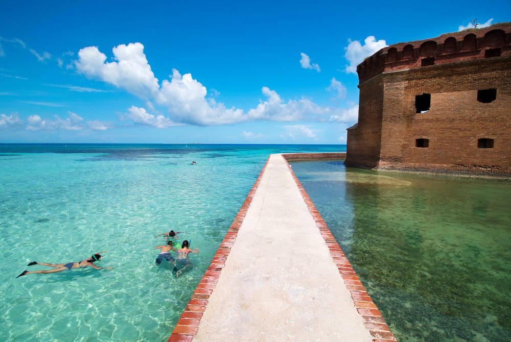 Fort Jefferson, Key West, Florida (credit: Rob O'Neil)
