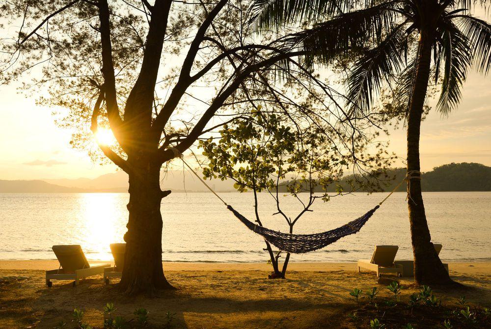 Beach, Gaya Island