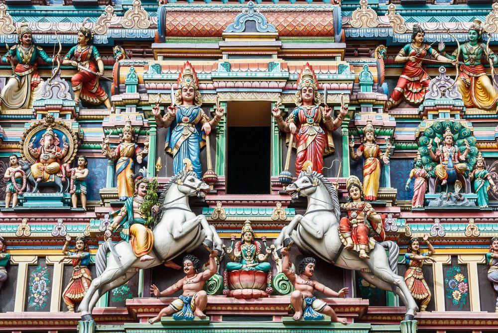 Hindu temple in Kuala Lumpur