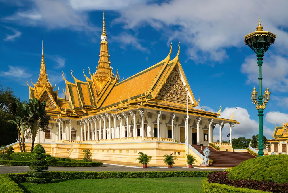 Silver Pagoda, Royal Palace, Phnom Penh, Vietnam