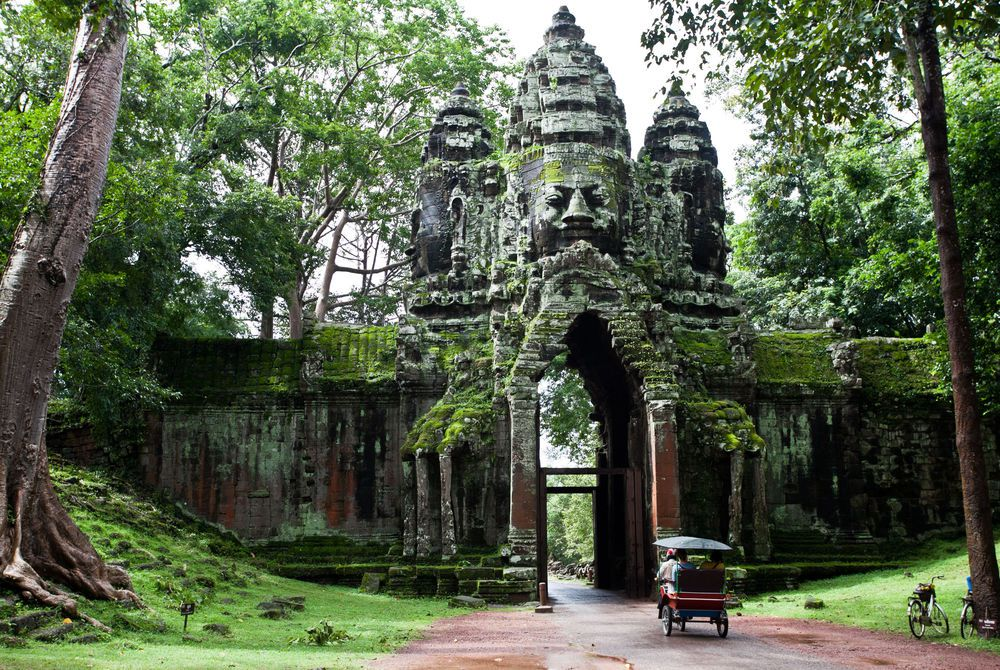 North Gate, Angkor Thom, Cambodia