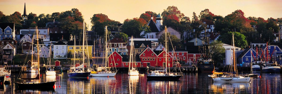 Lunenburg Harbour, Nova Scotia