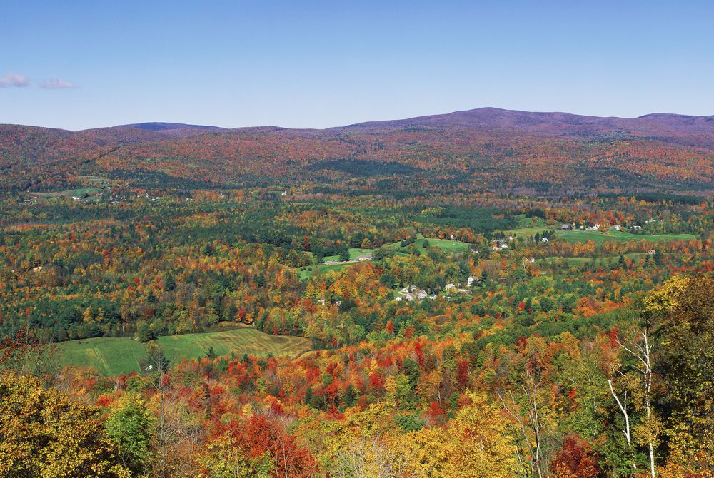 Berkshire Mountains, Massachusetts, USA