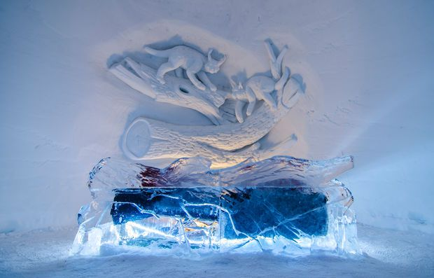 Kirkenes Snowhotel Ice Room