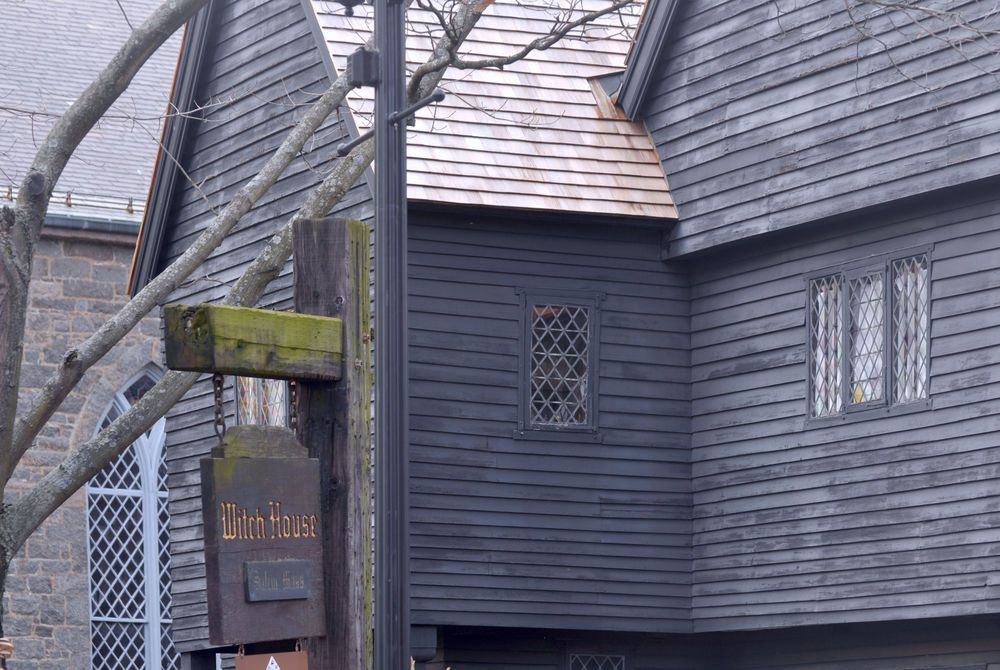 Witch House in Salem, Massachusetts, USA