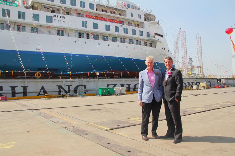 Greg Mortimer and Managing Director Robert Halfpenny