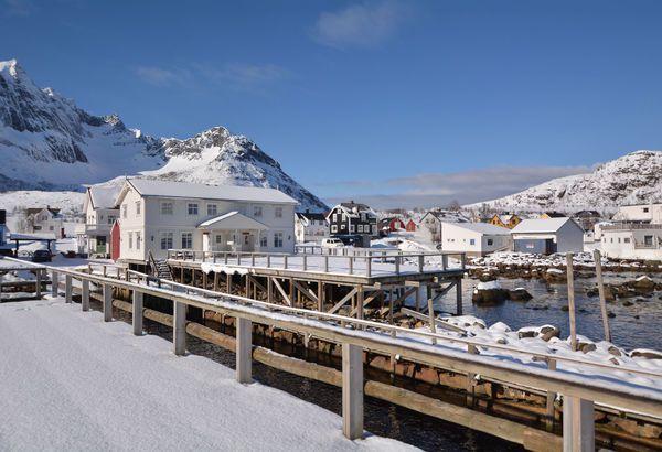 Mefjord Brygge, Mefjordvaer