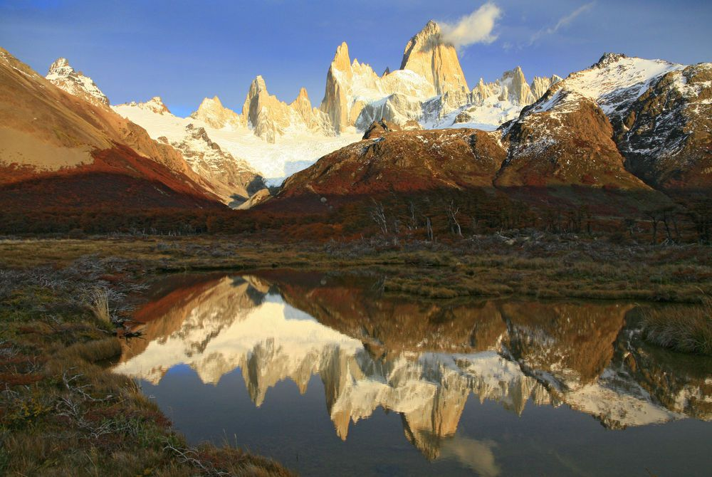 Mount Fitz Roy Massif, Los Glaciares National Park