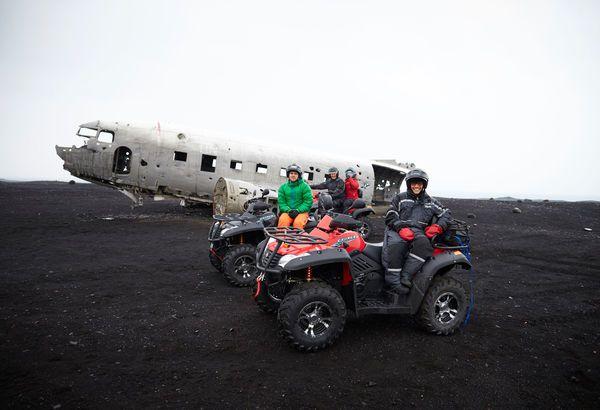 ATV Motorbikes in Hotel Ranga, Southern Iceland