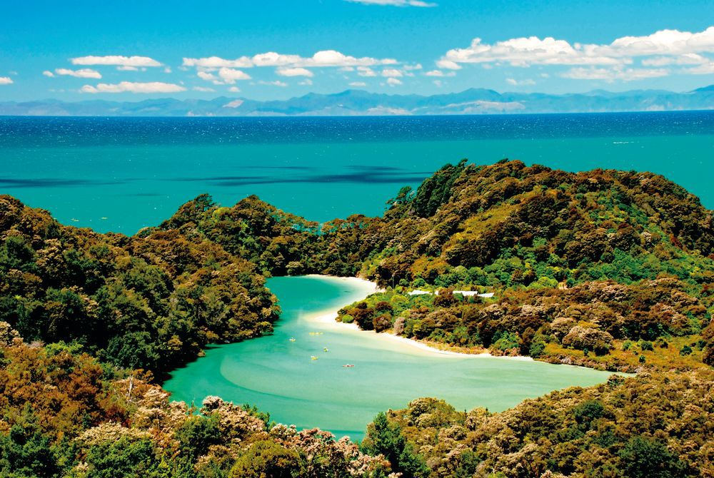 A Secluded Cove, Abel Tasman National Park, South Island, New Zealand