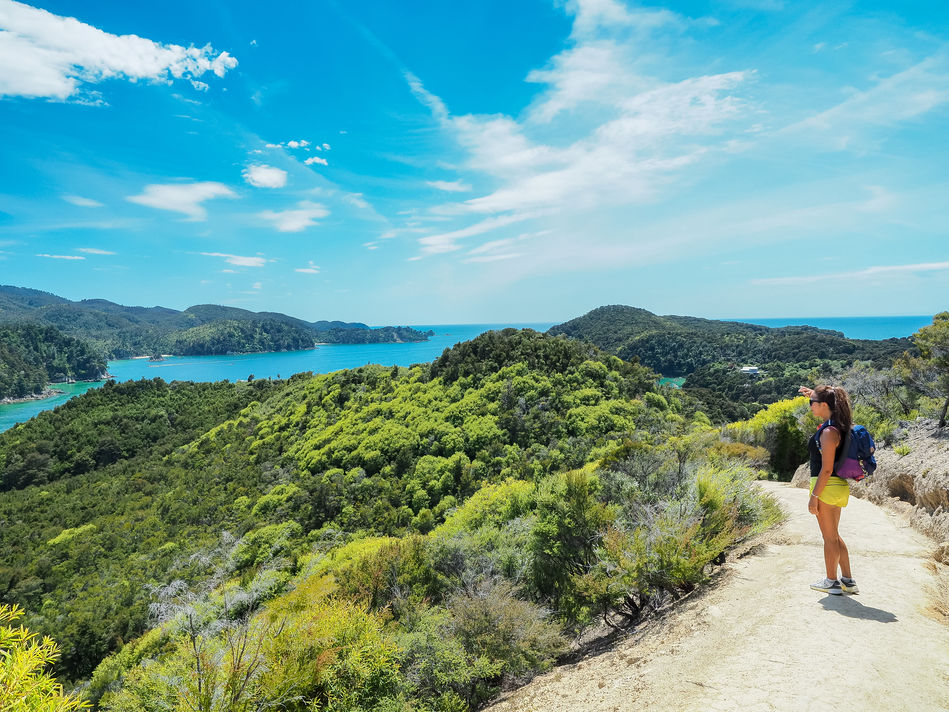Hiking in Abel Tasman National Park