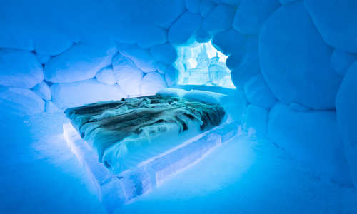Tromso Ice Domes Break