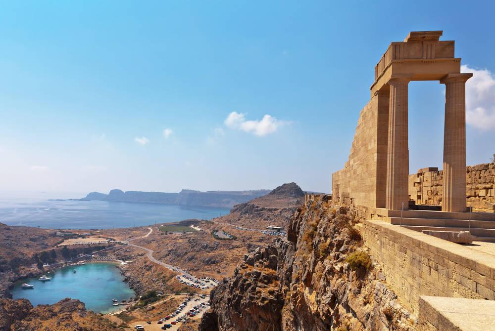 Acropolis of Lindos, Rhodes