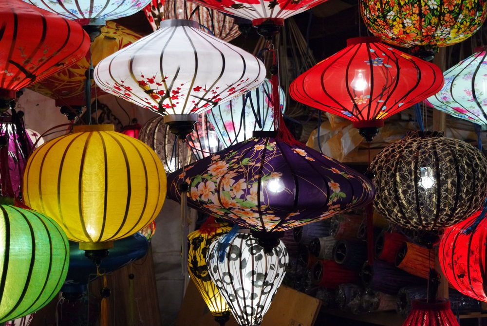 Adam Hickmott photography of Hoi An lanterns, Vietnam