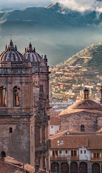 View over Plaza de Armas, Cusco