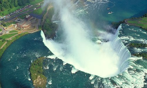 Aerial View, Niagara Falls