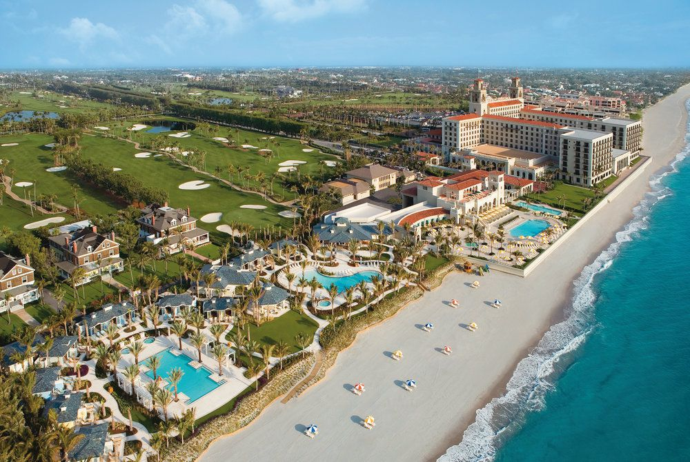 Aerial View, The Breakers