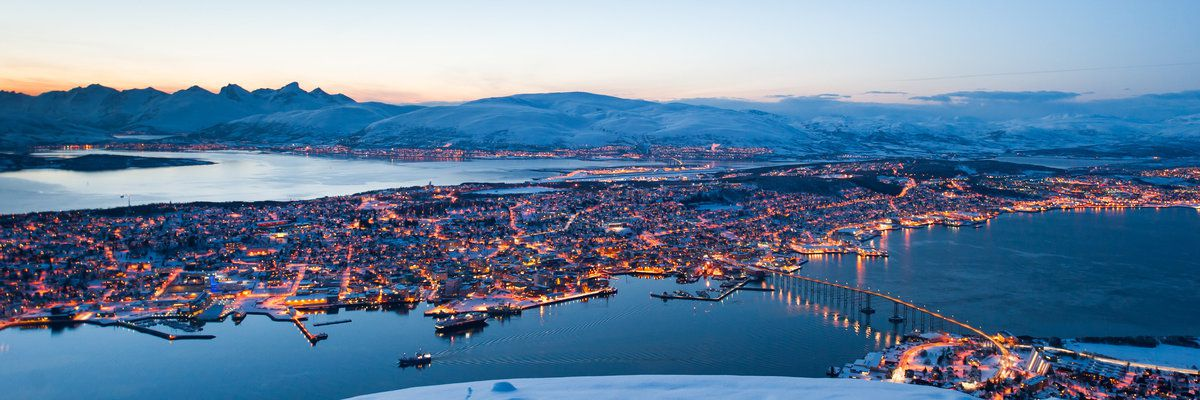 Aerial View, Tromso, Norway