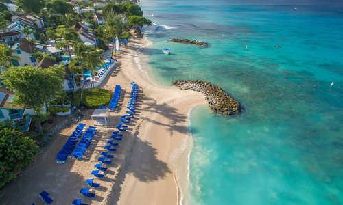 Aerial view, Crystal Cove, Barbados