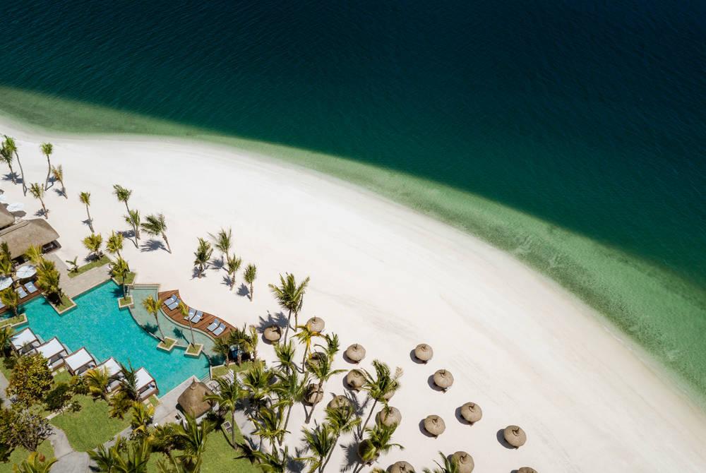 Aerial view, One&Only Le Saint Géran, Mauritius