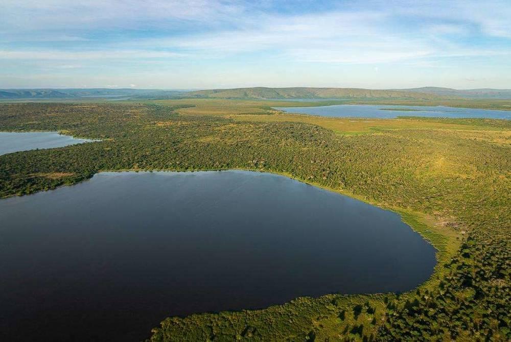 Lake Rwanyakizinga, Magashi Camp, Akagera National Park, Rwanda