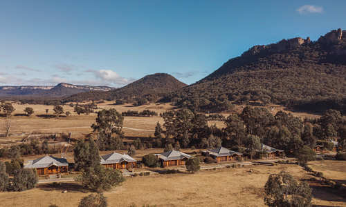 Aerial view, Emirates One&Only Wolgan Valley, Australia
